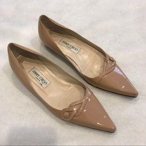 Jimmy Choo Patent Leather Flats